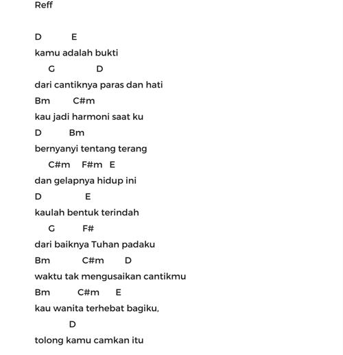 Chord Virgoun – Bukti (Lyric Video) #Trending